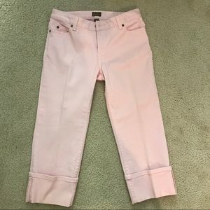 Caslon baby pink jeans